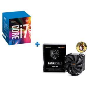 INTEL - Processeur Core i7-7700K 4.20GHz LGA1151 - KABYLAKE + Ventirad pour processeur BE QUIET Dark Rock 3
