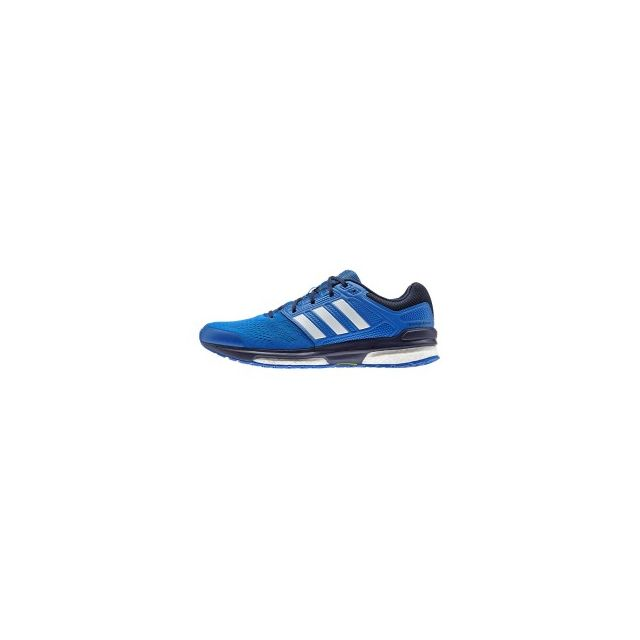 cheaper e6d22 60da1 Adidas - Chaussures Revenge Boost 2 bleu blanc bleu marine - pas cher Achat    Vente Chaussures running - RueDuCommerce