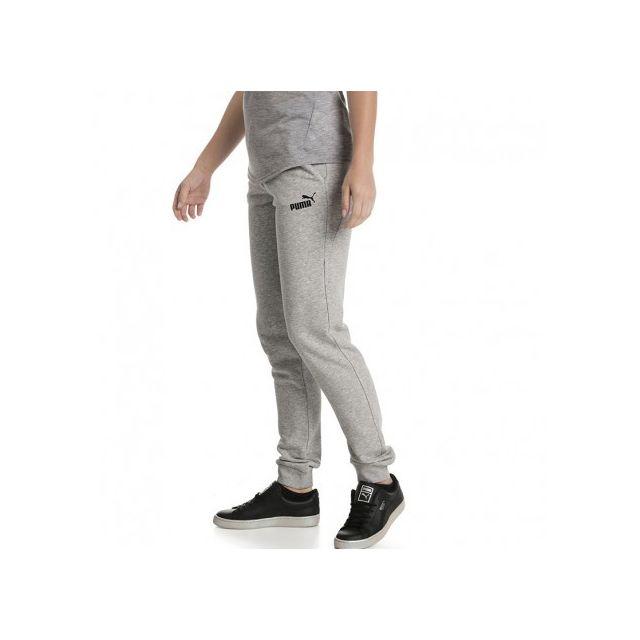Puma - Essential Femme Pantalon Gris - pas cher Achat   Vente ... d1b028f6fb8