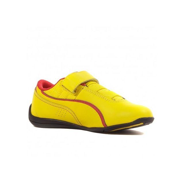 chaussure puma ferrari jaune