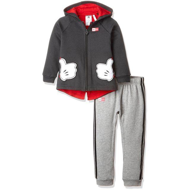 37b2c8d91bf25 Adidas - Adidas Disney Mickey Mouse Ensemble Bébé Garçon - Taille 3 4 ans -