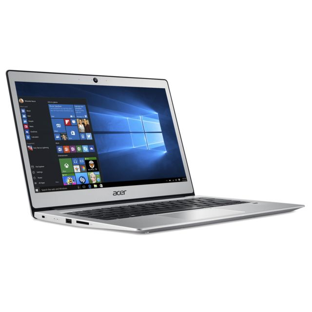 ACER 13,3'' Full HD - Intel Pentium N4200 - eMMC 64 Go - RAM 4 Go - Intel HD Graphics - Windows 10