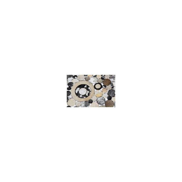 Karedesign - Tapis Circle Shine 170x240cm Kare Design Gris