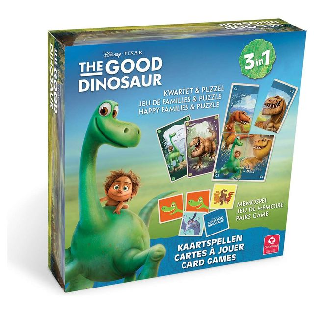 98211e3e2951b0 Carta Mundi - The Good Dinosaur - Coffret Multi-Jeux - pas cher ...