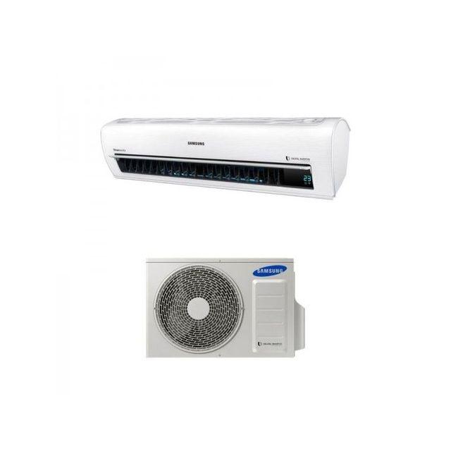 Pompe chaleur air air samsung pack console 5000w vendu for Climatiseur mural air tempo