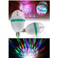 Cmp - Ampoule led jeux de lumiere disco spot multicolore