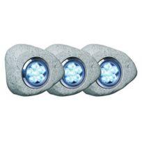 Elro - Lot de 3 Rochers lumineux a Led