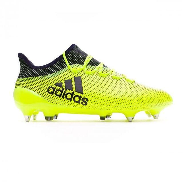 Adidas Chaussure de football X 17.1 Sg Solar yellow Legend