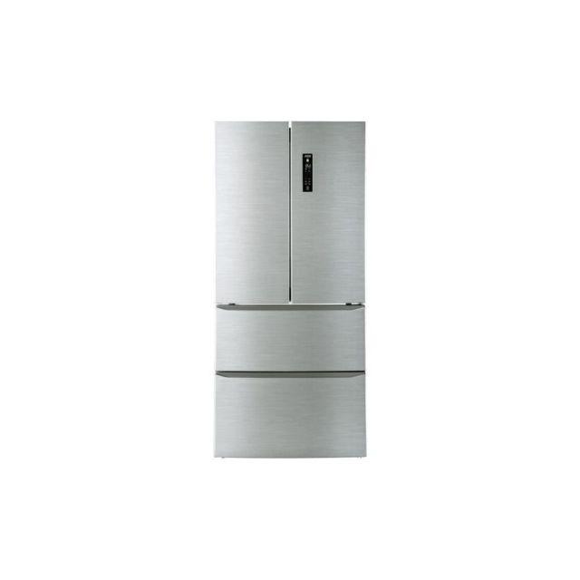 Candy Cmdn182eu - Refrigerateur Multi-portes French Door - 408l 274l + 134l - Total No Frost -a++ - L78,5cm X H 181,5cm - Inox