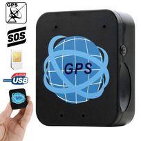 Yonis - Mini traceur Gps Gprs Micro espion Gsm rappel automatique Sos