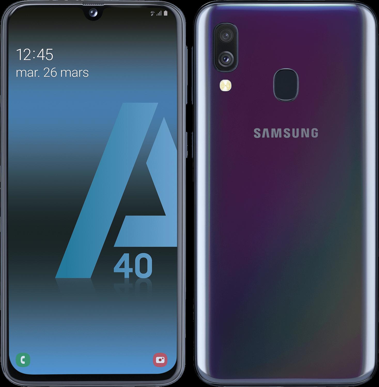 Galaxy A40 - 64 Go - Noir