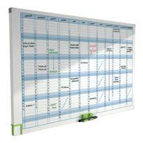 ACCO - 3048001 - planning magnétique effaçable annuel - format 60x90 cm
