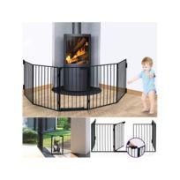 ProBache - Barrière de sécurité pare-feu cheminée et grille de protection enfant