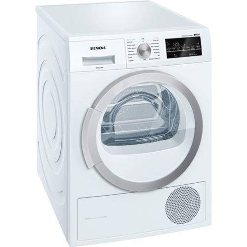 siemens s che linge pompe chaleur avec condenseur 60cm 8kg a blanc wt47w460ff achat. Black Bedroom Furniture Sets. Home Design Ideas