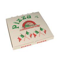 """Papstar - Boîtes à Pizza en cellulose rectangulaire 33 cm x 33 cm x 4 cm """"Italie"""" - 15200"""
