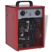 Rocambolesk - Superbe Radiateur soufflant électrique industriel portable 5 kW 200 m³/h neuf