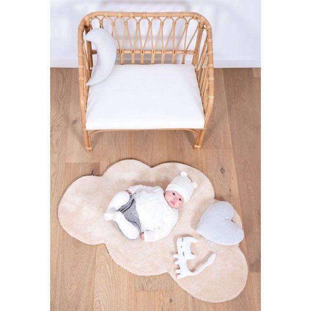 Lilipinso - Tapis Nuage beige chambre bébé par - pas cher ...