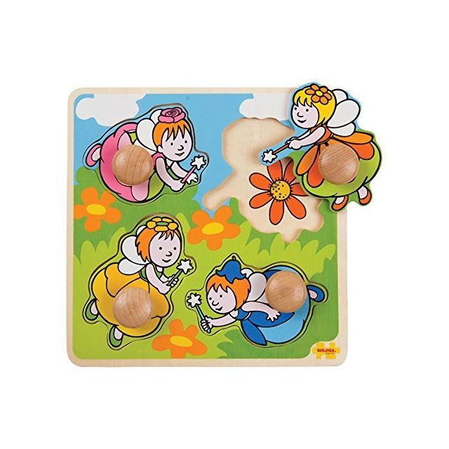 Bigjigs Toys My First Peg Puzzle Fairy