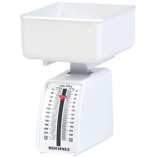 Soehnle Balance mécanique Combi Blanc