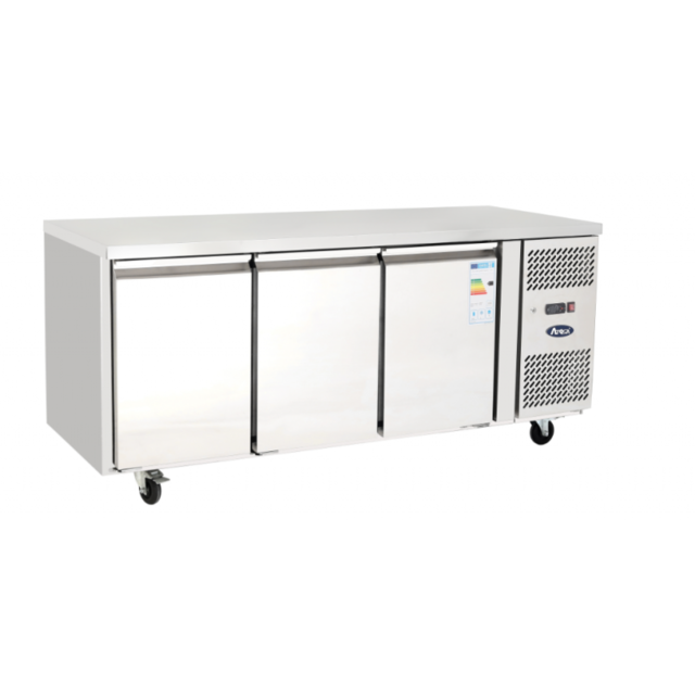 Atosa Table Réfrigérée Négative Inox - 3 Portes - 1795 mm 600