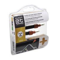 Auto-T - cordon jack/jack 3,5mm 1,2m smartphone