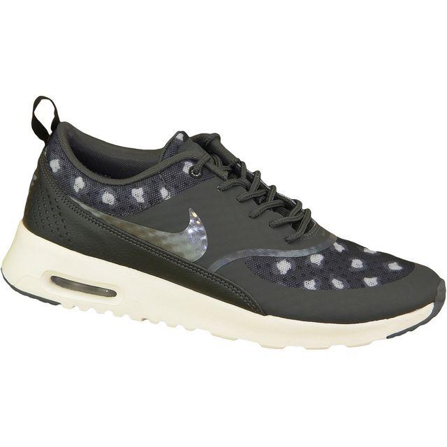 official photos 9cb1c 50546 Nike - Air Max Thea Premium Wmns 599408-008 Gris - pas cher Achat   Vente  Baskets femme - RueDuCommerce