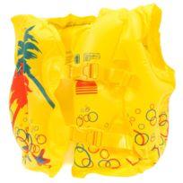 Best Way - Gilet natation baignade sécurité Bestway Tropical swim jne 3-6a Jaune 80198