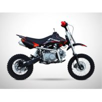 Probike - Moto Dirt Bike 110 - Semi Automatique - Pit Bike 110 - Rouge - 2018