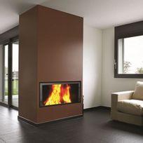Termofoc - Insert à bois modèle c1000es + kit de ventilation pour insert c1000es