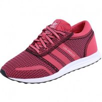baskets adidas rose et noir