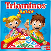 GOLIATH - Jeu de société - Triominos Junior - 60627.006