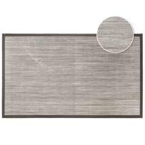 Tapis Deco - Cdaffaires Tapis rectangle 45 x 75 cm pvc tisse tonio Naturel