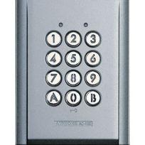 Aiphone - Clavier saillie métal injecté, rétro éclairé, 100 codes, 2 relais, alim 12/24 Vc
