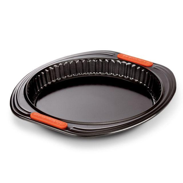 Le Creuset Moule à tarte en acier anti-adhérent siliconé rond fond amovible 26 cm PÂTILISS