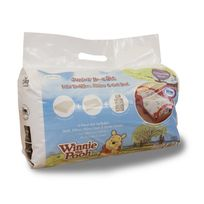 Character World - Pack Literie Winnie l'Ourson Disney : Couette + Housse & Oreiller + Taie