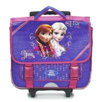 La Reine Des Neiges - Cartable à roulettes Frozen 38 Cm Violet