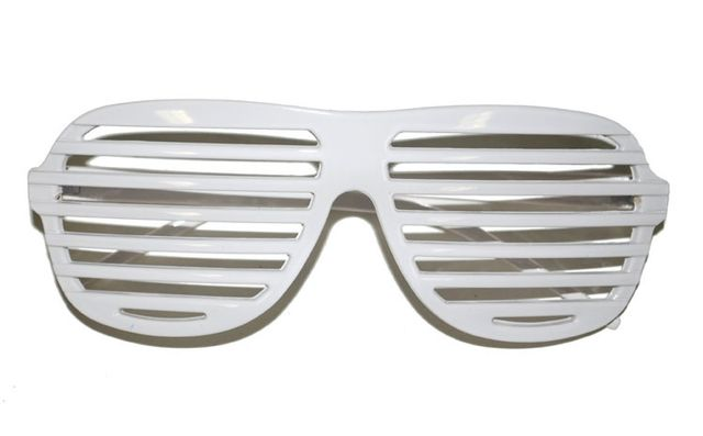 Funny Fashion - Lunettes Blanches - pas cher Achat   Vente ... a2748b8d9fbf