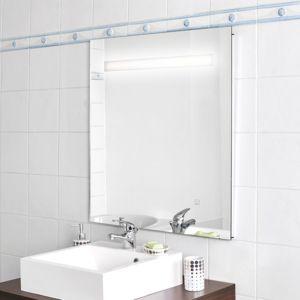 Creazur miroir r tro clair mirlux 80x80 cm avec for Miroir 80x80
