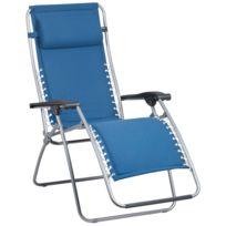 Lafuma Mobilier - Rsx - Siège camping - Padded Polycotton bleu