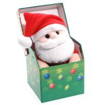 Feerie Christmas - Peluche de noël en boîte lumineuse Fun - Père noël