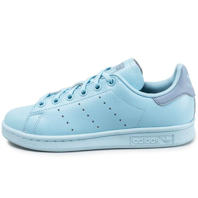 Adidas originals - Stan Smith Junior Bleu - pas cher Achat   Vente ... 9cc151e1776a