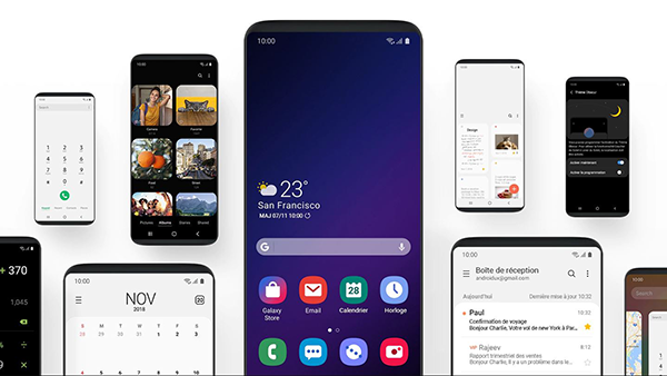 samsung galaxy s10 one ui android 9 pie
