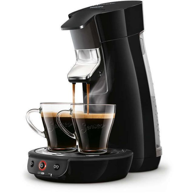 PHILIPS Machine à café à dosettes Senseo Viva HD7829/63