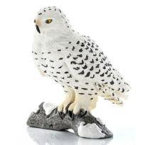 Schleich - Figurine Chouette : Harfang des neiges
