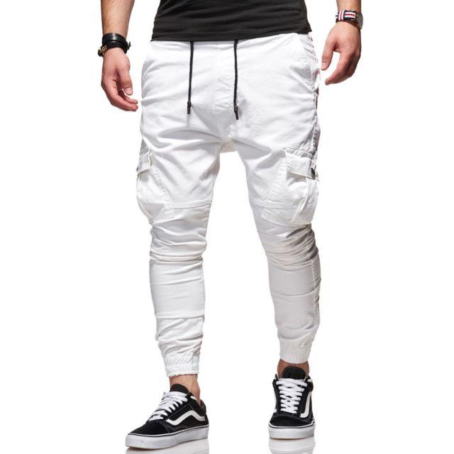 Kc 1981 - Jogger chino cargo homme Pantalon
