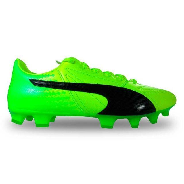 chaussures de foot puma cuir