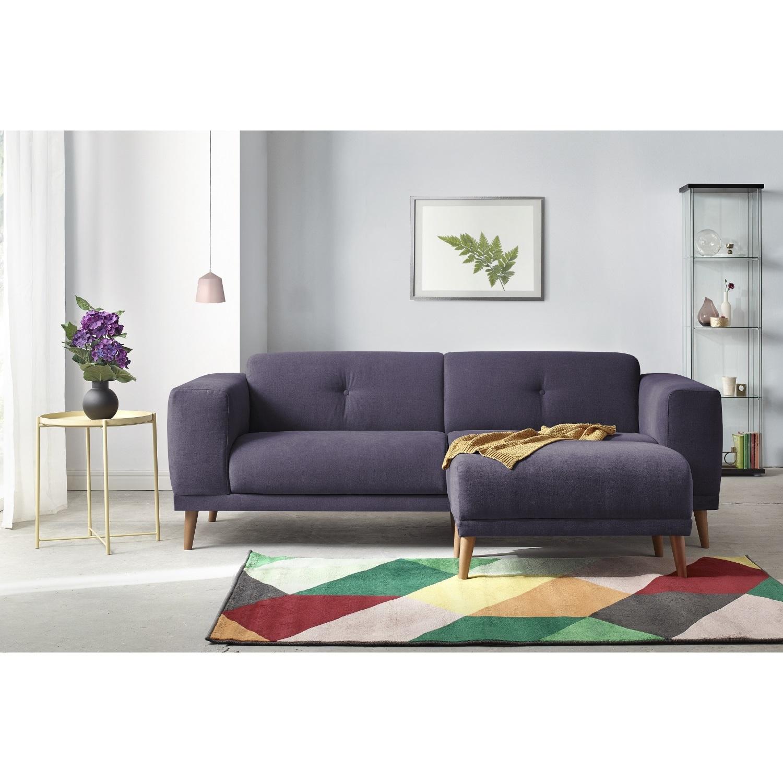 bobochic canape 3 places luna avec pouf prune 93cm x 77cm x 225cm achat vente canap s pas. Black Bedroom Furniture Sets. Home Design Ideas