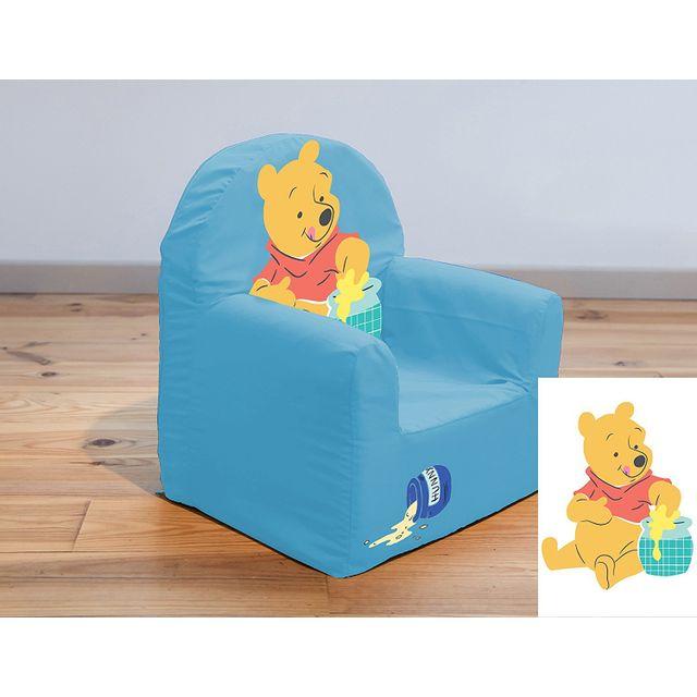 Top petit fauteuil club winnie luourson bleu x pas cher for Bureau winnie