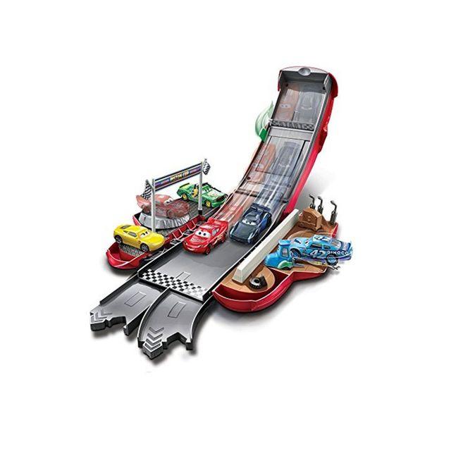 Mattel Cars 3 : Flash McQueen Transformation en piste