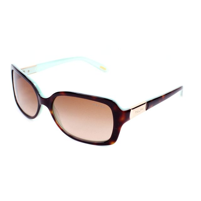 By Lunettes De 60113 Havane Turquoise Ra5130 Soleil Ralph Ibfyv7gmY6